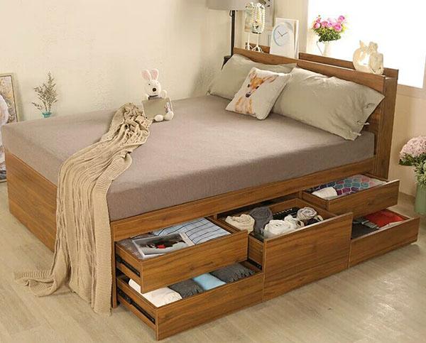欧仕莱卧室床WSC004