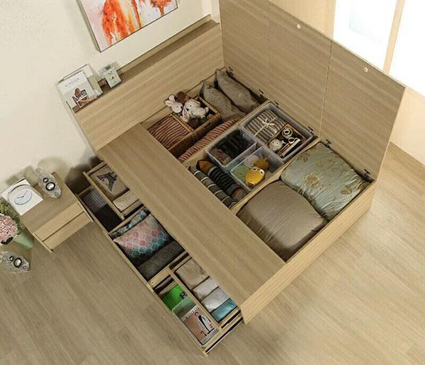 欧仕莱卧室床WSC001